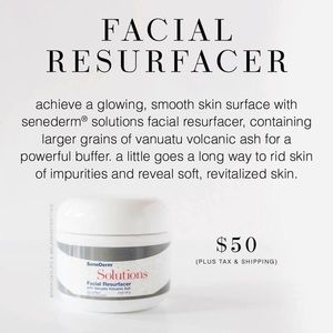 Facial Resurfacer Face Scrub